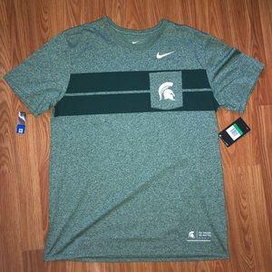 [Nike] Michigan State Spartans Shirt NWT